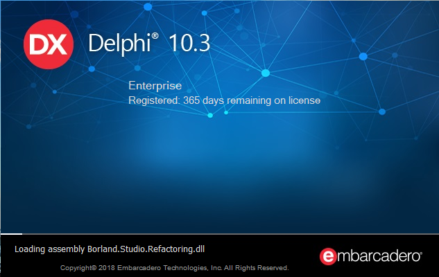 Delphi 10.3 RIO (Community Edition)